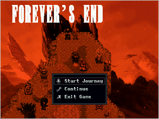 Forever's End Title Screen