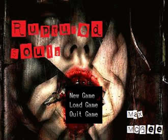 Ruptured Souls Title Screen