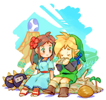 Link's Awakening Fan Art By Nemurism