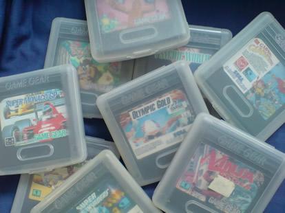 Sega GG Games